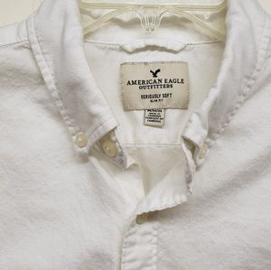 American Eagle Outfitters Shirts - Like New! AE Men's White Button-up